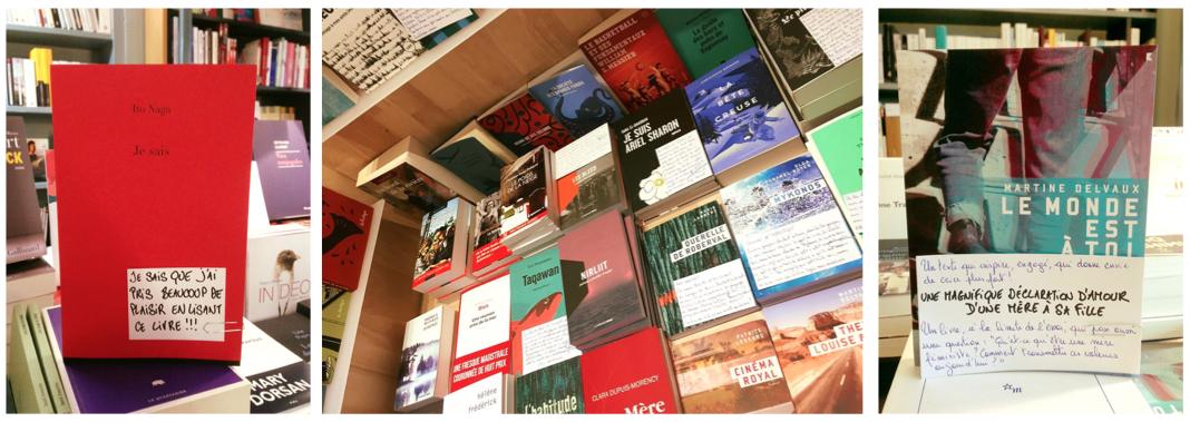 Exemples de commentaires du libraire (Librairie Pax)